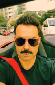 Bobby Deol Short Hairstyle