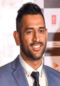 Dhoni Short Hairstyle