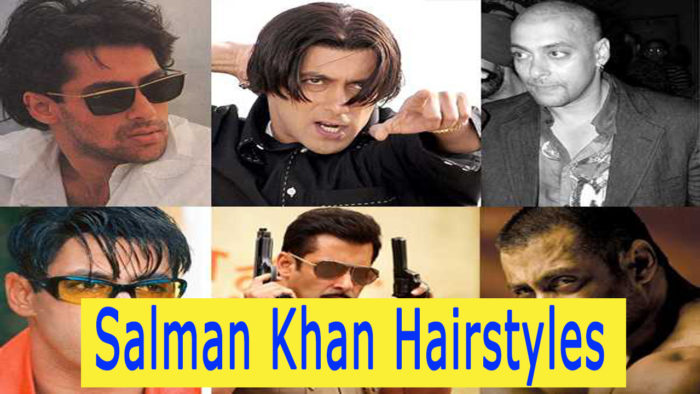 Salman Khan Hairstyles