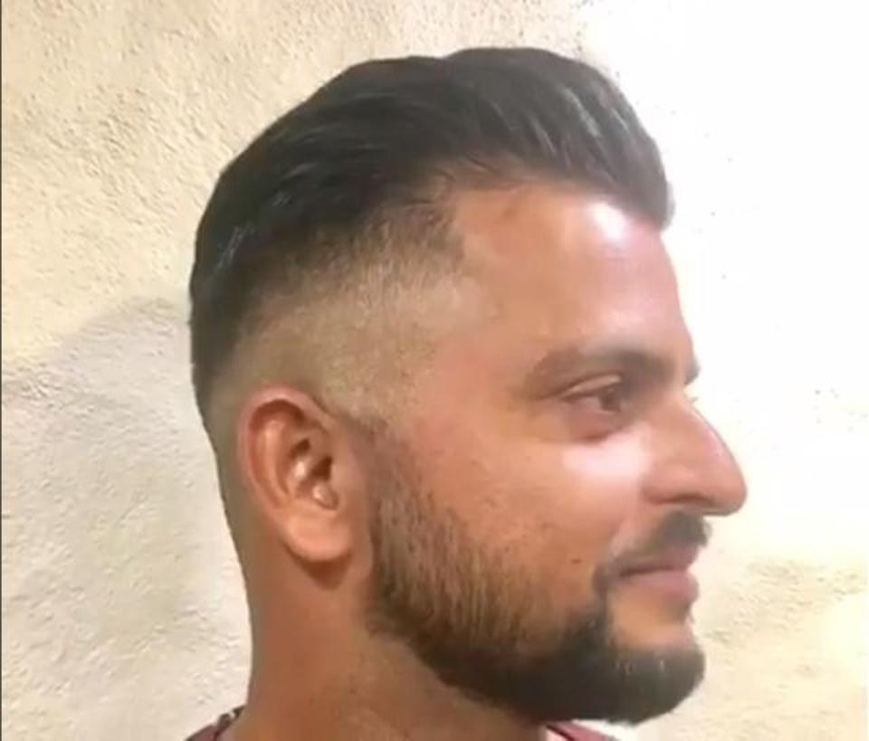 Shuresh Raina Hairstyle and Beard