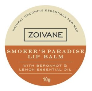 Zoivane Mens Natural Smokers Paradise Lip Balm
