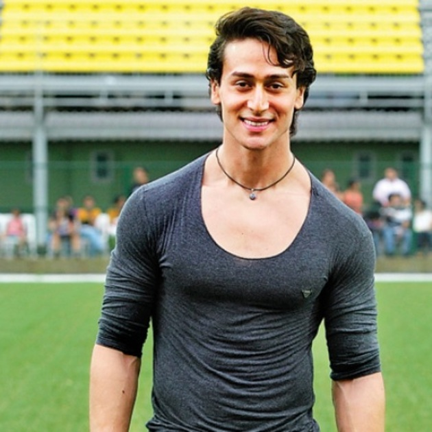 tiger shroff hairstyle in A Flying Jatt