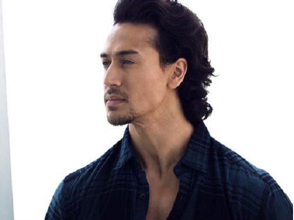 tiger shroff hairstyle in Befikra