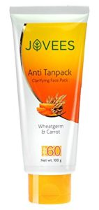 Jovees Wheatgram & Carrot Anti Tan Face Pack
