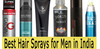best hair spray for men in india