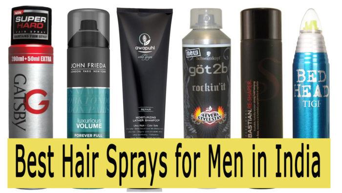 best hair spray for men in india