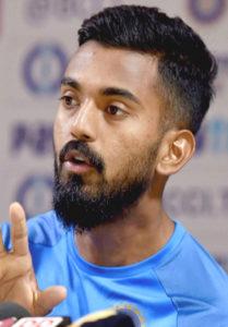 K L Rahul Short Hairstyle