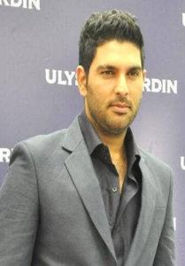 Yuvraj Singh Short Hairstyle