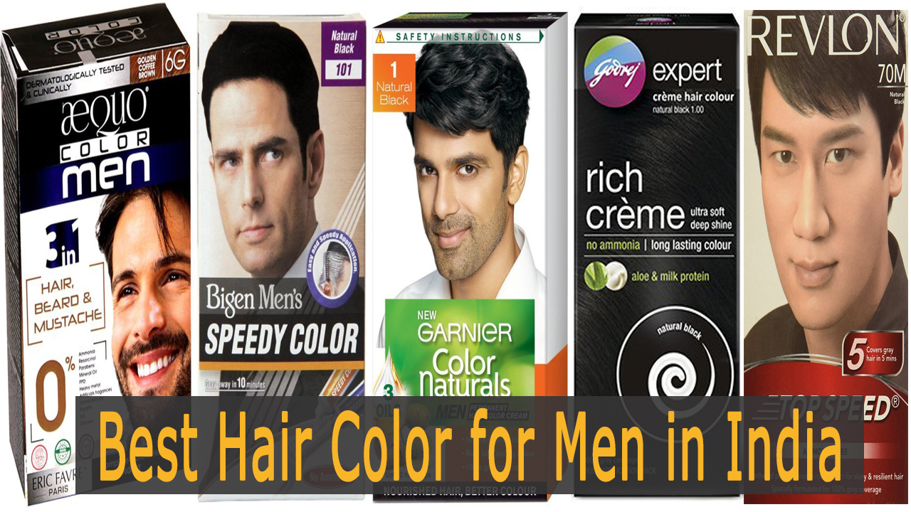 11 Best Hair Color For Men In India With Their Prices Fashion Guruji