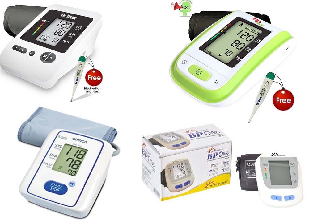 Best Blood Pressure Monitors in India 2019 : Reviews and ...